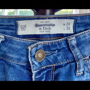 Straight leg jeans A&F